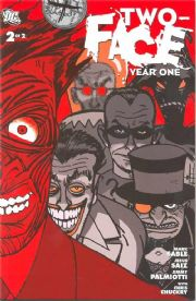 Two Face Year One #2 (2008) DC comic book